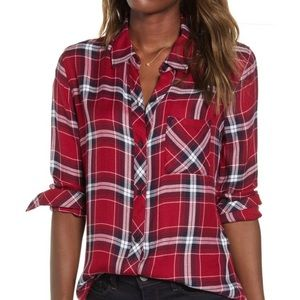 Gorgeous NWT Rails Plaid Shirt Large